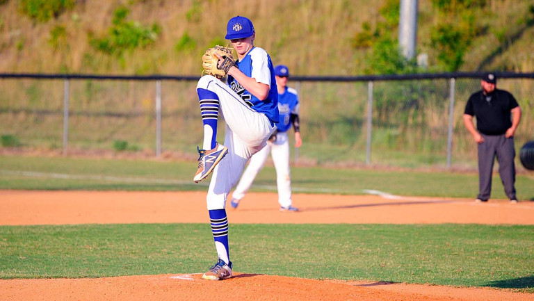 Cameron, Edwards team on one-hitter as Wolverines thump Cougars