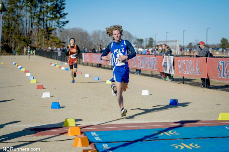 Polk's Edwards completes first state cross country meet