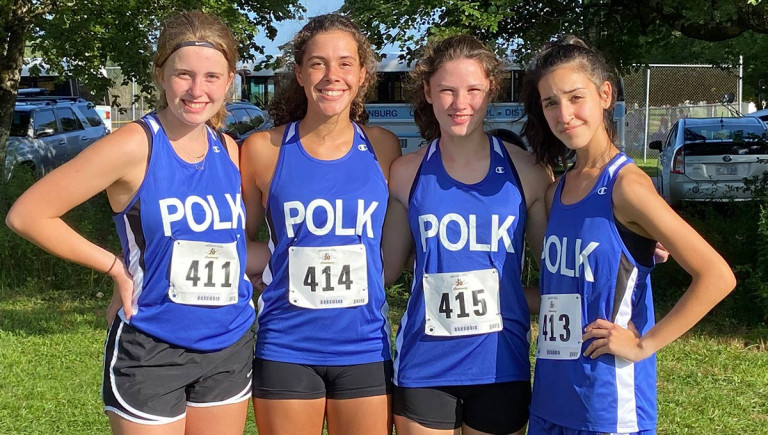 Wolverine seniors shine at WNC Cross Country Carnival