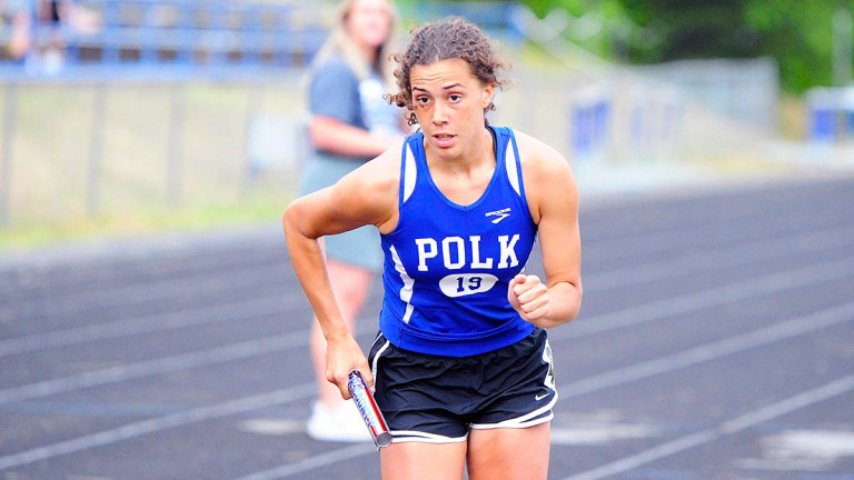 Still the best: Polk girls claim another WHC track and field championship