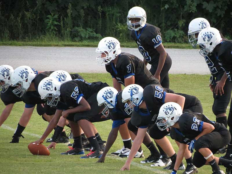 Polk Middle footballers remain undefeated