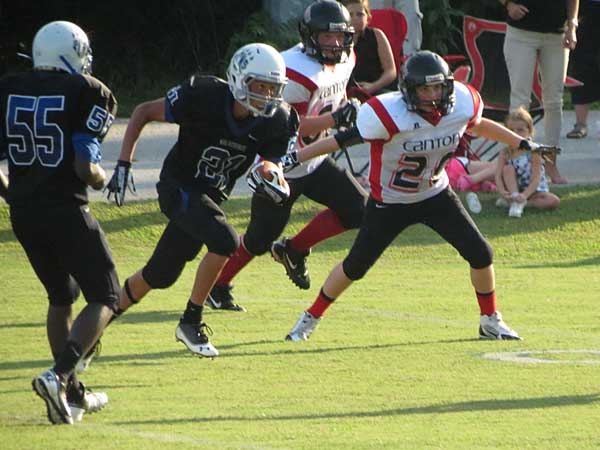 Polk Middle thumps Canton for historic win