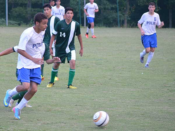 Hard-working Polk soccer squad holds off Avery
