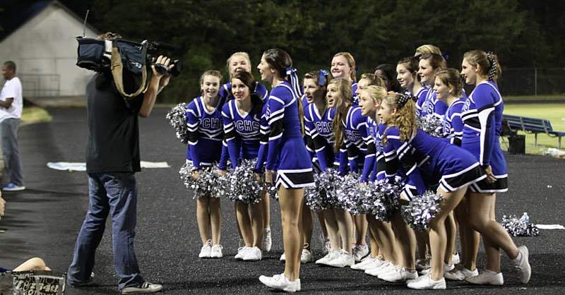Polk cheerleaders, Schlabach, Ollis make WLOS top plays
