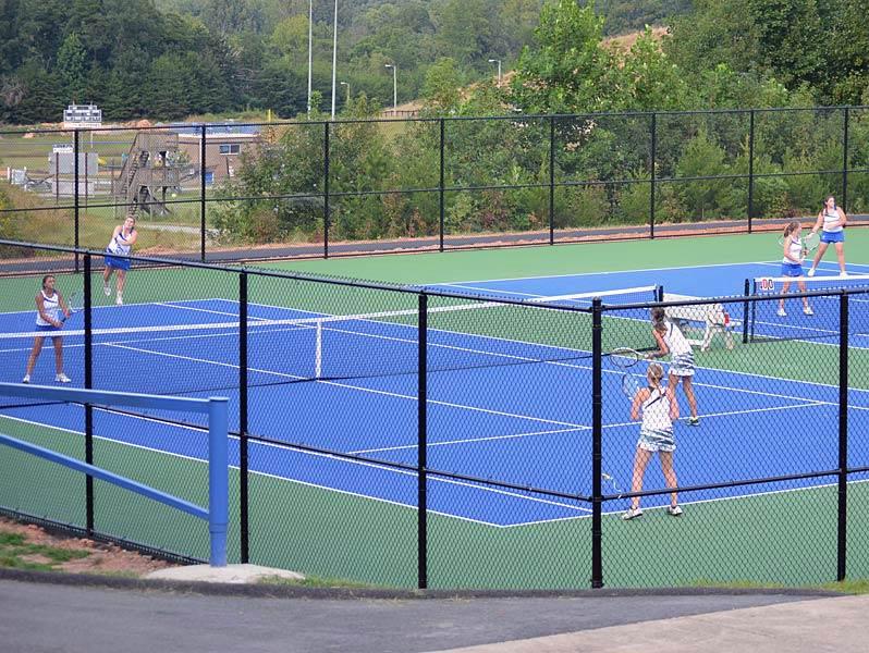 Rebuilding job begins for Polk County tennis program