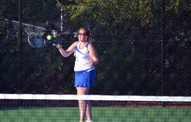 Polk girls tennis squad wraps up solid 2013, readies for postseason