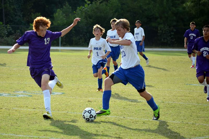 Polk Middle soccer continues winning ways