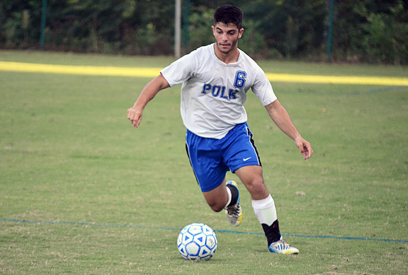 Monday roundup: Polk soccer remains perfect in conference play