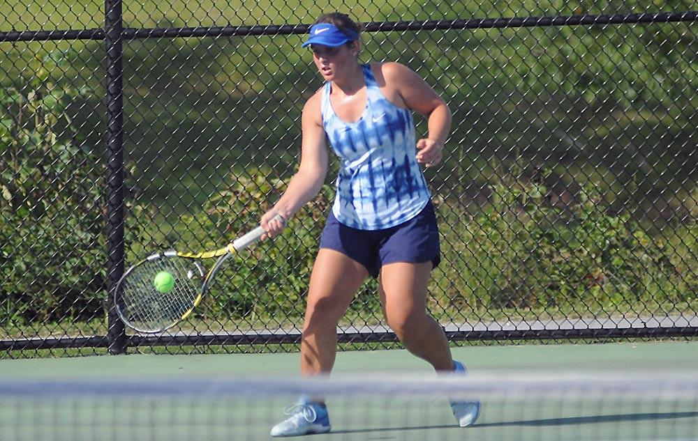 Jenne claims 1A West Regional tennis title