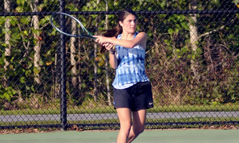 Still the one: Polk County repeats WHC girls tennis championship