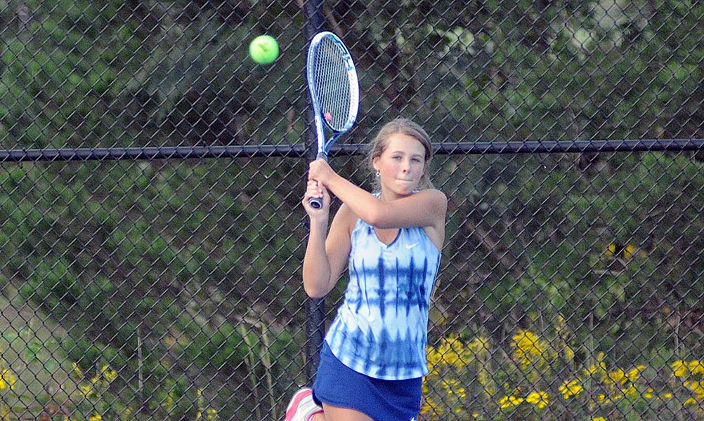 Polk places five on All-Area tennis squad