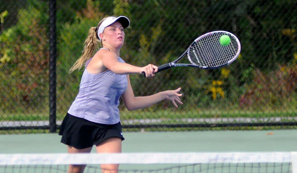 Singles strength helps boost Polk past East Rutherford