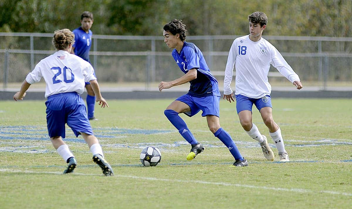 Wolverines earn top seed, first-round bye in state 1A boys soccer playoffs