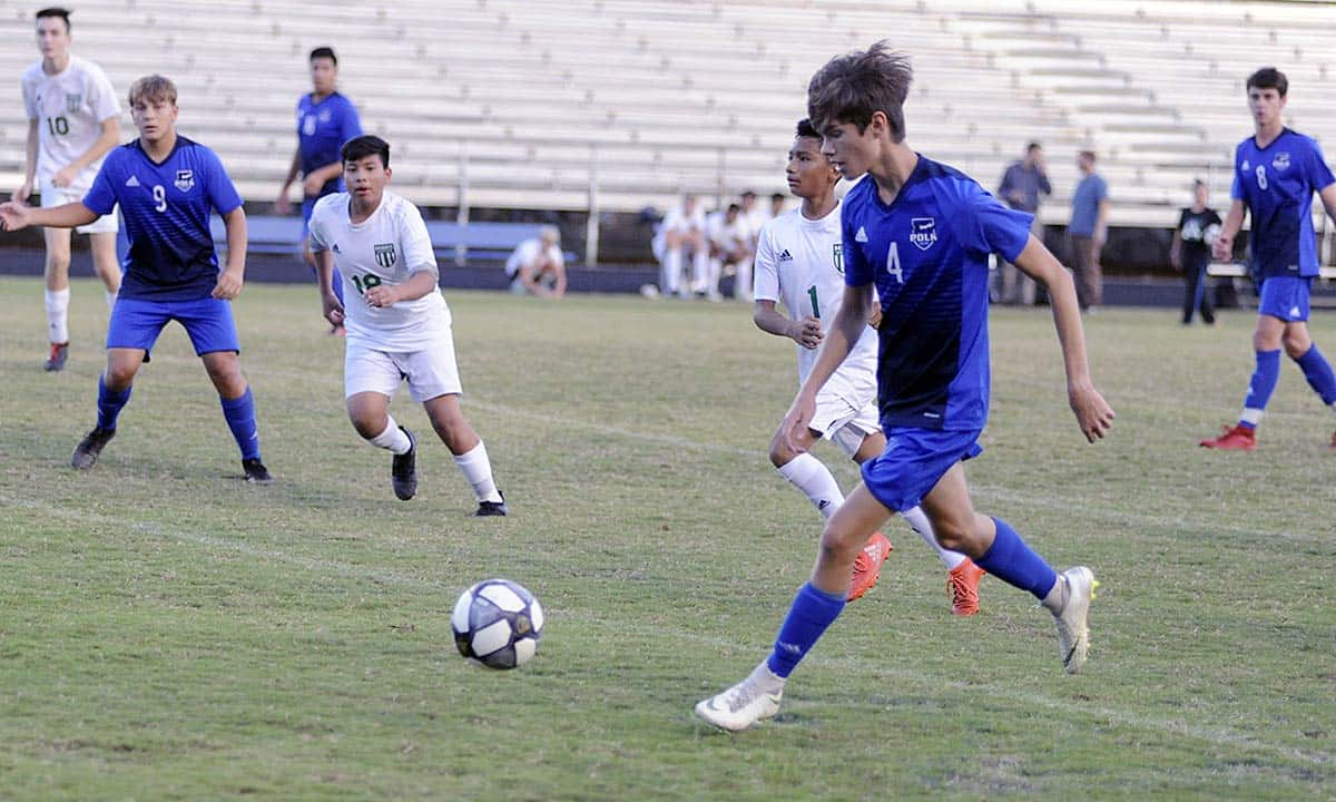 Polk to host Langtree Charter in soccer playoff opener