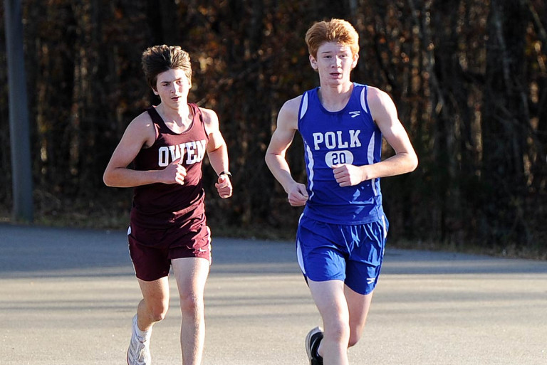 Wolverine boys dominate heat at R-S Central cross country meet