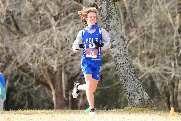 Polk's Edwards earns spot in 1A state cross country meet