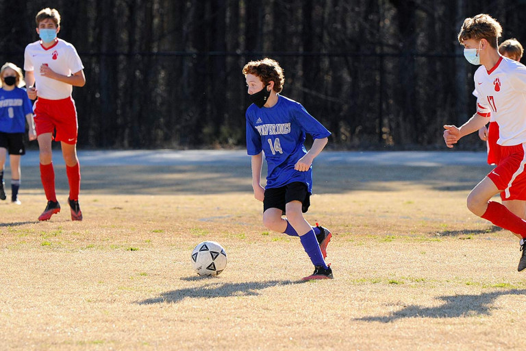 Polk Middle rolls to 4-1 victory at Rugby Middle