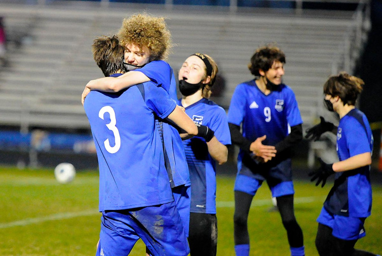 Cole snap: Pereira's overtime goal lifts Polk County past Elkin