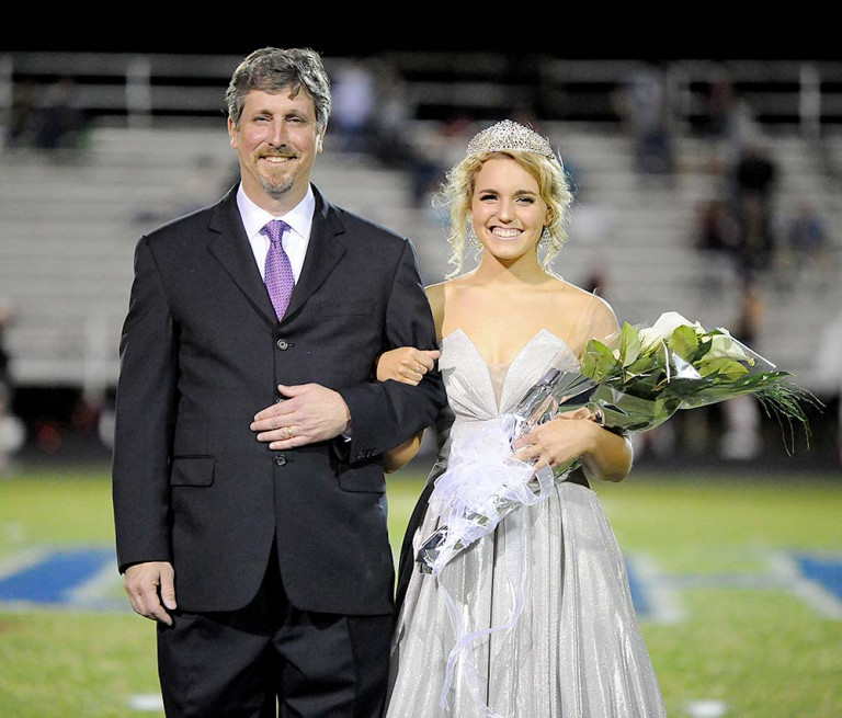 Carter crowned Polk County's 2020 Homecoming Queen