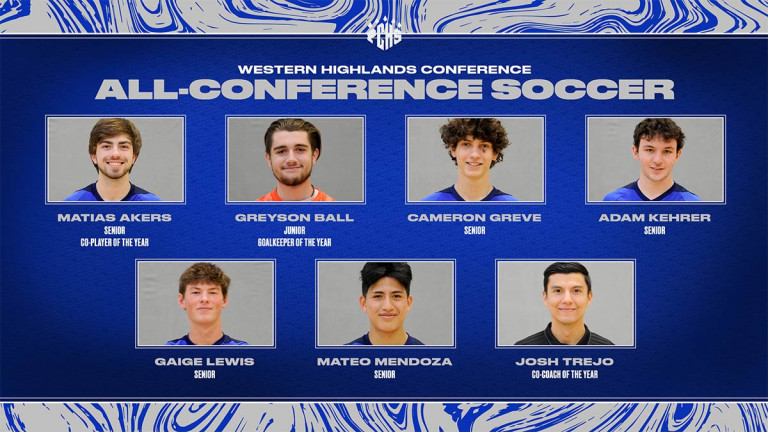 Akers, Ball, Trejo, five Wolverines earn WHC soccer recognition