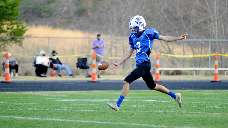 Polk places 10 on All-WHC football squad; Akers named top special teams player