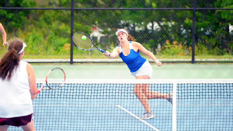 Polk downs Owen, caps whirlwind season with another WHC girls tennis title