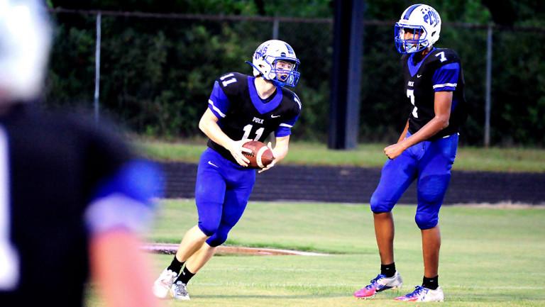 Second-quarter flurry helps Polk topple Newton-Conover