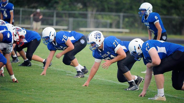 Polk County updates JV football, volleyball schedules