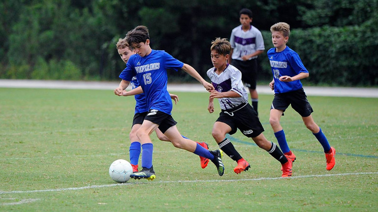 Hendersonville Middle gets overtime goal to top Polk Middle