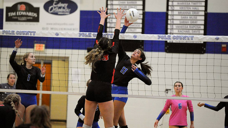 Polk County sets 'new standard' in upending Patton in four sets