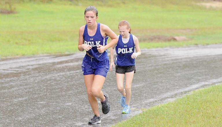 Photos: Polk Middle runners open cross country season